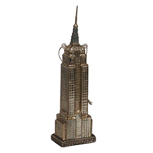 (Kurt Adler Noble Gems Empire State Building Ornament, 6.5-Inch)