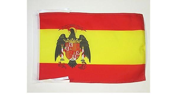 AZ FLAG Bandera de ESPAÑA 1977-1981 45x30cm - BANDERINA ESPAÑOLA ...