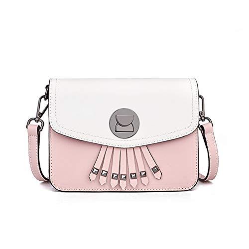 donna a tasca resistente all'acqua per tracolla Multi messenger nappa tracolla con per royalblue rosa a cinturino incrociata Pu Donna Borsa blocco regolabile borsa rotante Td4wxT