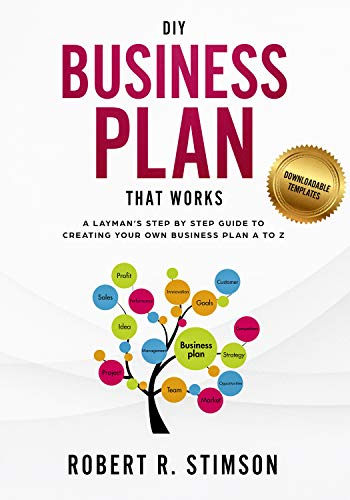 amazon com diy business plan that works a layman s step by step