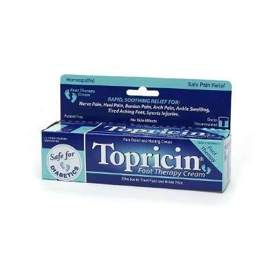 Topricin Foot Therapy Cream 2 oz ( Pack of 3)