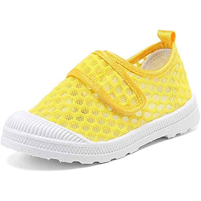 EQUICK Toddler Kids Water Shoes Breathable Mesh Running Sneakers Sandals for Boys Girls Running Pool Beach