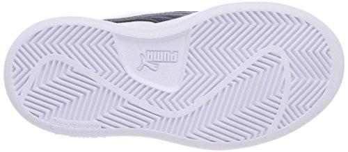 Ginnastica Unisex Bambini Blu Scarpe puma Puma Basse Da Smash V White peacoat – V2 Ps L xx07zPR