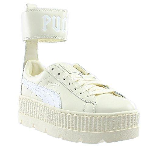 PUMA Women's Fenty Ankle Strap Sneaker Vanilla Ice White 7.5 B(M) US (Ankle Strap Sneakers)