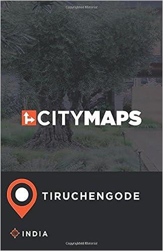 City Maps Tiruchengode India: James McFee: 9781548944575