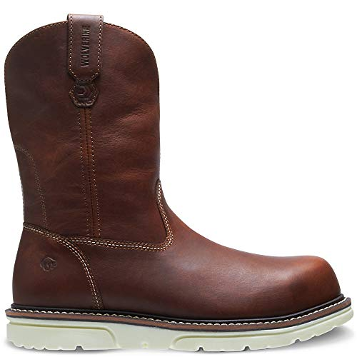 Wolverine Men's I-90 DuraShocks Wedge Wellington cm Industrial Shoe, Brown, 10 XW ()