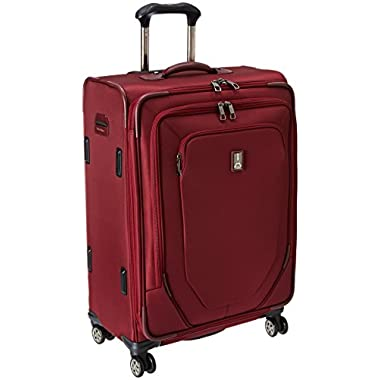 Travelpro Crew 10 25 Inch Expandable Spinner Suiter, Merlot, One Size