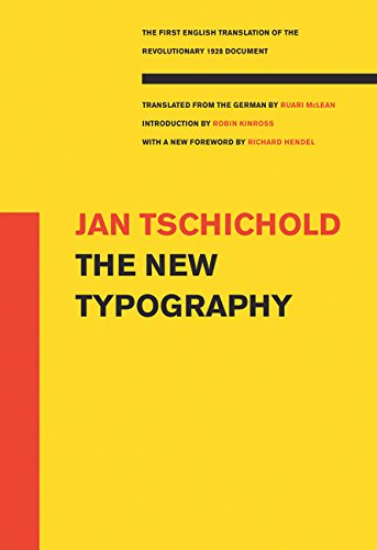 The New Typography (Weimar and Now: German Cultural Condemnation (Paperback))