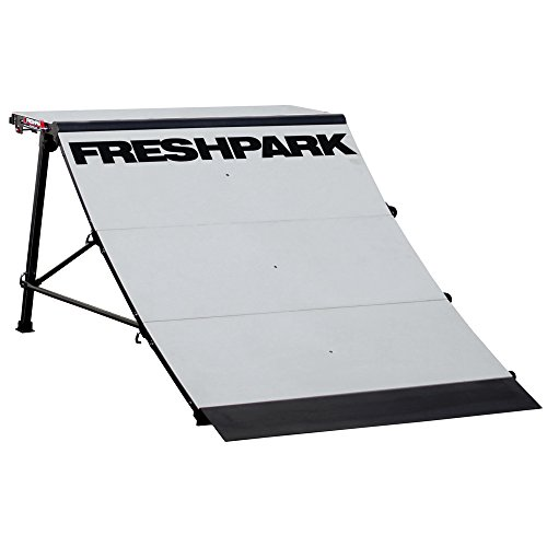 FreshPark Professional BMX and Skateboarding Quarter Pipe by FreshPark