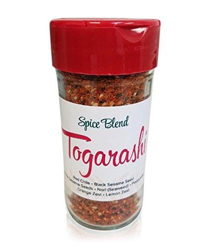 Togarashi (Shichimi Togarashi, Japanese 7 Spice), 2.3 Oz - Salt Free | UsimplySeason