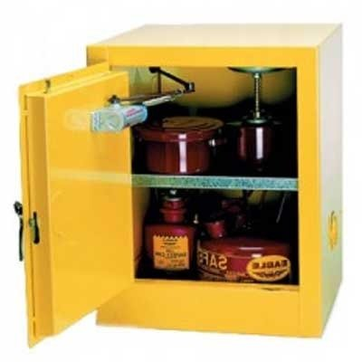 Eagle 1904 Flammable Safety Cabinet, Manual-Latching, 4 Gallon