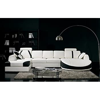 Vig Furniture T57B Ultra Modern Sectional Sofa