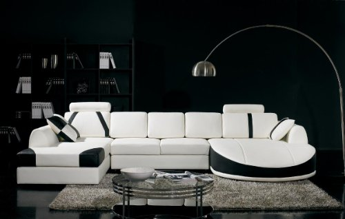 Vig Furniture T57B Ultra Modern Sectional -