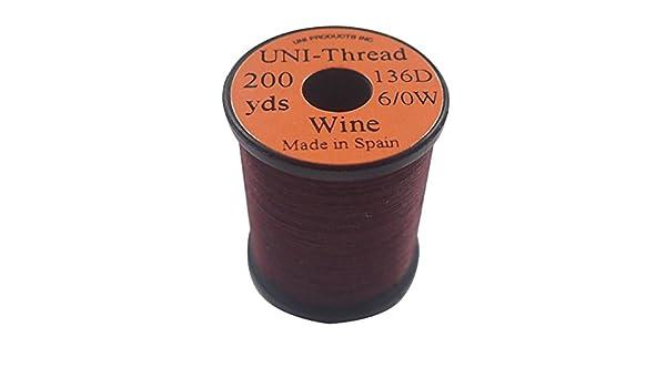Fly Tying Uni-Thread 6//0-200 yd Wine