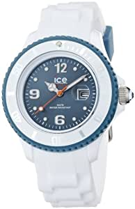 Ice Watch Women's Blue Dial Silicone Band Watch - SI.WJ.S.S.11