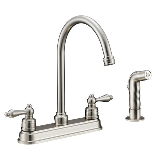 Kitchen Satin Nickel Faucets Price Compare