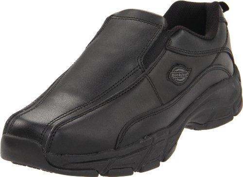 Dickies Men's Athletic Slip-On Work Shoe,Black,12 M US