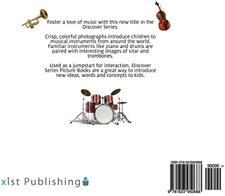 Discover Series Picture Book for Children Musical Instruments