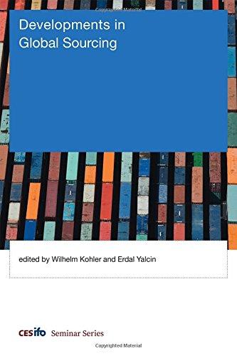 Download Developments in Global Sourcing (CESifo Seminar Series) ebook