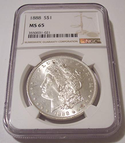 1888 Morgan Silver Dollar MS65 NGC