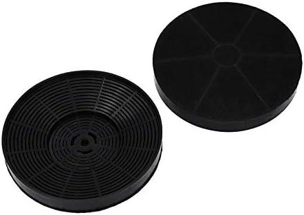 2x filtro de carbón Filtro de carbón activado Juego de filtros redondo de 175 mm Dunstabzugshaube Campana extractora para Respekta MIZ0031 PKM CO4: Amazon.es: Grandes electrodomésticos