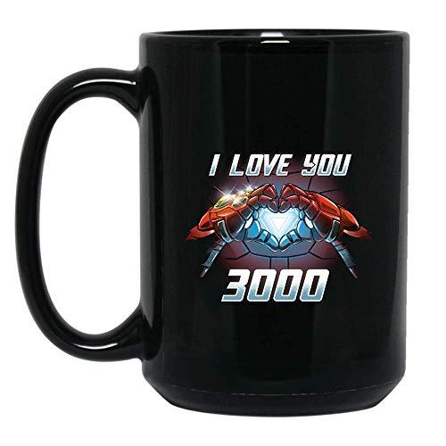 DAD I Love You 3000 T-Shirt Awesome Mug Love DAD Shirt Gifts for Women Men Boys Girls Big Fans Standard Coffee Mugs, Fathers Day Gifting ideas - Premium Quality printed (Black, 15oz.)]()