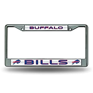 NFL Buffalo Bills Bling Chrome Plate Frame
