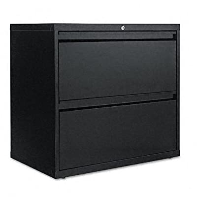 Alera LA523029BL 30 by 19-1/4 by 29-Inch 2-Drawer Lateral File Cabinet