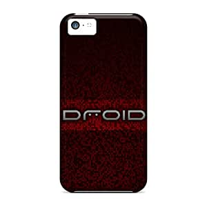 Iphone 5c Case Cover Droid Pixels Red 2 Case - Eco-friendly Packaging