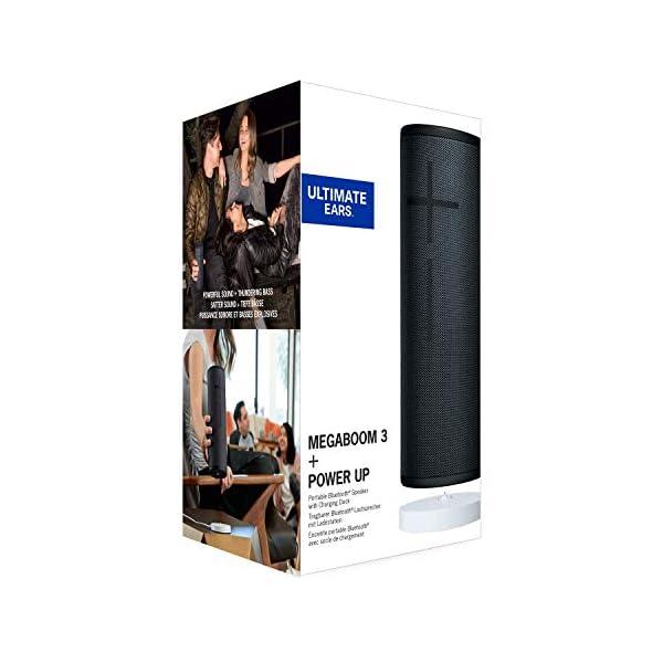 Ultimate Ears Megaboom 3 Enceinte Bluetooth sans Fil + Power Up Socle de Chargement - Nuit Noire 5
