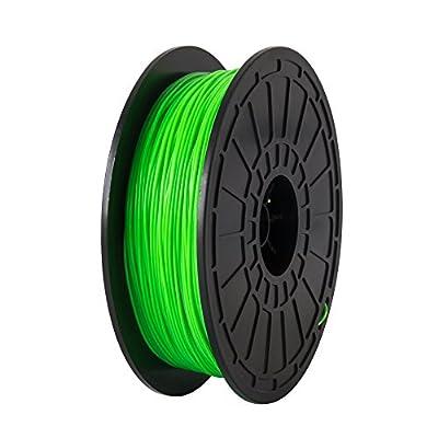 Flashforge ABS Green 1.75mm,3D Printer Filaments,compatible with FlashForge Dreamer,0.6 Kg spool-Dimensional Accuracy +/- 0.05mm