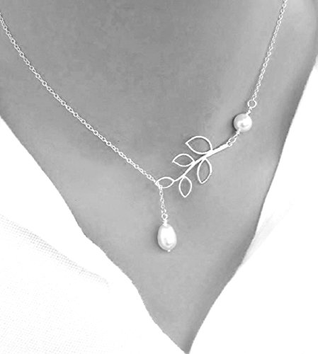 Usstore Simple Silver Pendant Necklaces product image