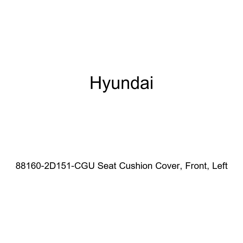 Left Genuine Hyundai 88160-2D151-CGU Seat Cushion Cover Front