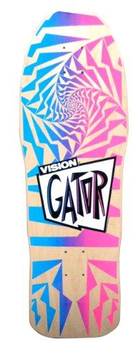 Old School Skates (Vision Original Old School Reissue Gator 2 Skateboard Deck, Natural)