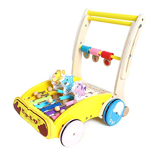 Amazon.com: GPAN Foldable Wood Child Walker,with Thick ...