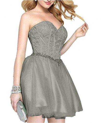 Abendkleider mia Promkleider Burgundy Ballkleider La Neu Cocktailkleider Braut Mini Kurzes Festlichkleider Partykleider Traegerlos 7qnOwZYdzO