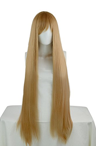 EpicCosplay Persephone Caramel Brown Long Straight Wigs (12CRB) ()