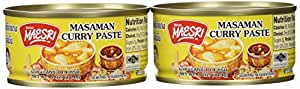 Maesri Thai masaman curry - 4 oz x 2 cans