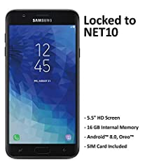 The Net10 Samsung Galaxy J7 Crown S767 4G LTE Android prepaid smartphone serves as a useful alternative to people who don't want to commit to a month-to-month cell service plan. With this item, you can pay as-you-go. This allows you to track ...