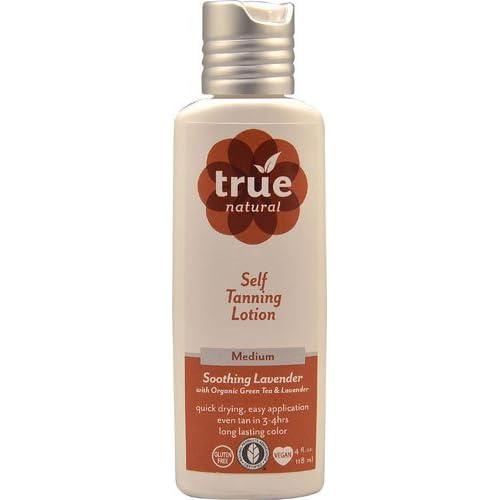 True Natural Self Tanning Lotion Medium -- 4 fl oz - 3PC