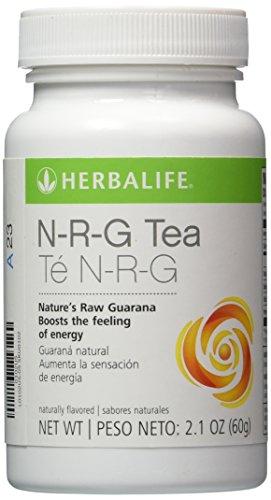HERBALIFE NRG NATURE'S RAW GUARANA POWDER TEA 2.1 OZ by Herbalife