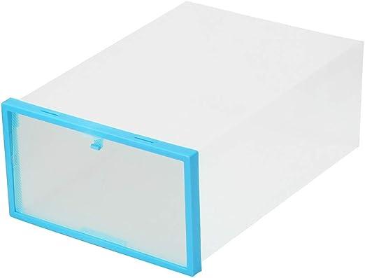 Houkiper Caja de Almacenamiento de Zapatos, Organizador de Caja de ...