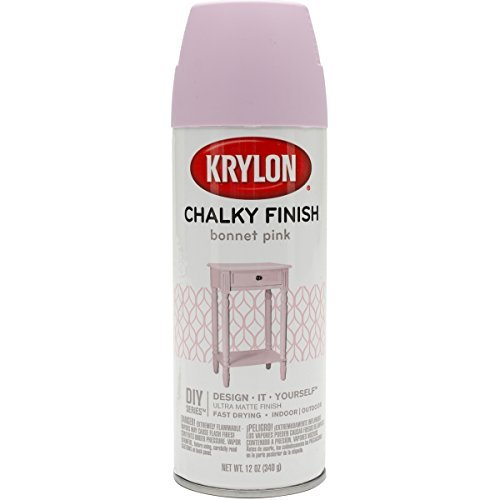 Krylon Chalky Finish Spray Paint, Pink
