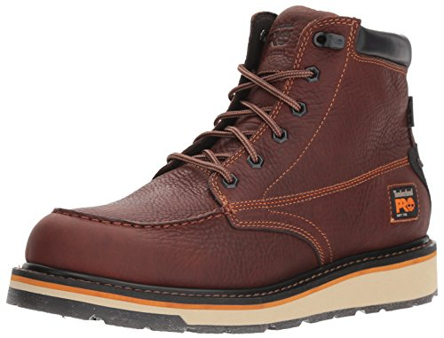 Timberland PRO Men's Gridworks Moc Soft Toe Waterproof Industrial Boot, Brown, 12 M US -