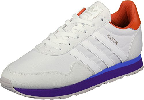 adidas Herren Haven Sneaker verschiedene Farben (Ftwbla / Ftwbla / Narfue)