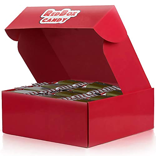 Ghirardelli Peppermint Bark Chocolate Candy Squares (144 Count) Bulk Candy Chocolate Gift Box