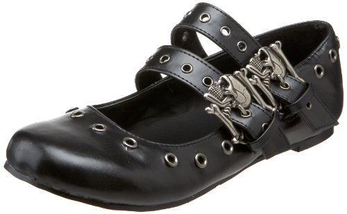 Demonia DAISY-03 Blk Vegan Leather UK 5 (EU 38 )