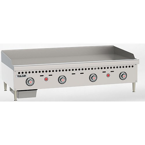 Griddle Vulcan Gas (Vulcan VCRG48T Vulcan Restaurant Gas Griddle - Snap-Action Thermostatic - VCRG48T)