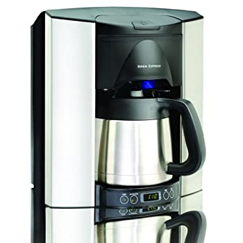 Image of Brew Express BEC-110BS 10-Cup Countertop Coffee System, Stainless/Black Home and Kitchen
