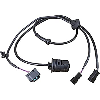 AIP Electronics ABS Anti-Lock Brake Wheel Speed Sensor Compatible Replacement For 2002-2007 Chevrolet Pontiac and Saturn Rear Left Driver Oem Fit ABS358